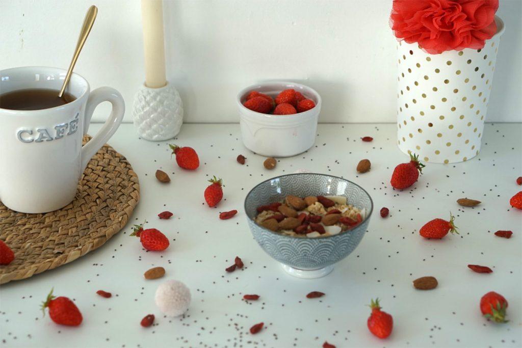 Petit déjeuner lifestyle et healthy